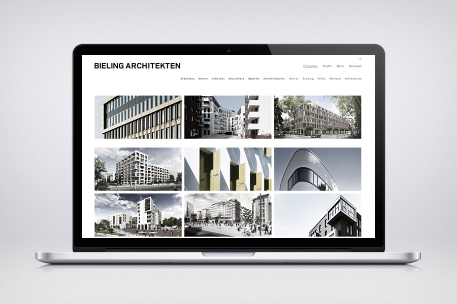 Bieling Architekten - Contao Website & Webdesign
