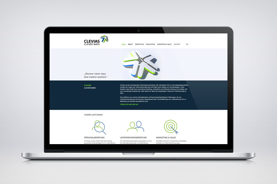 Clevias - Contao Website & Webdesign
