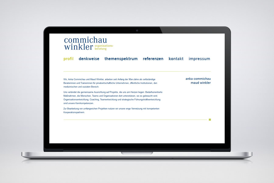 Commichau & Winkler - Contao Website