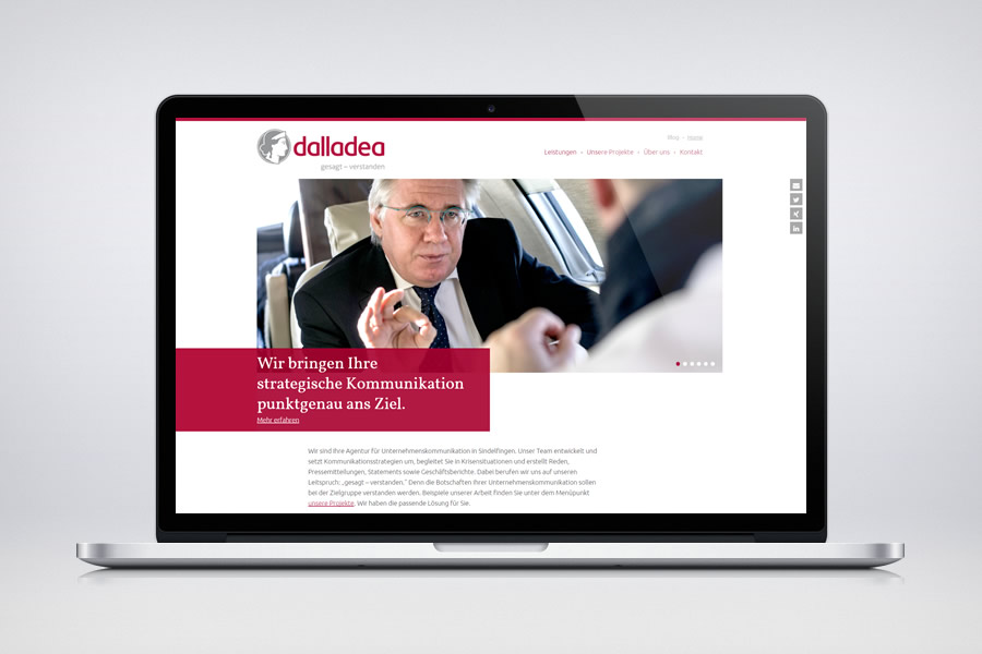 Dalladea - Responsive Contao Website