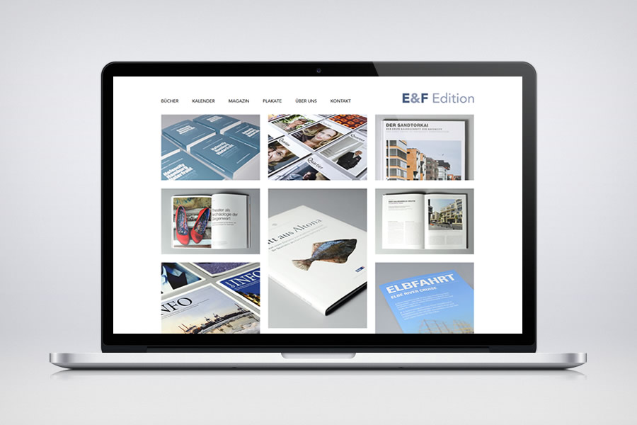 Elbe & Flut - Edition - Contao Website