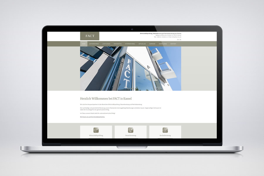 FACT - Responsive Contao Website