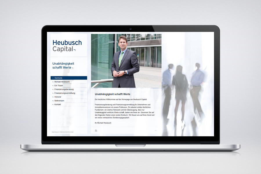 Heubusch Capital - Contao Website