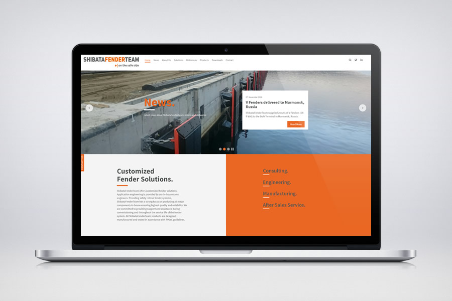 ShibataFenderTeam - Responsive Contao Website