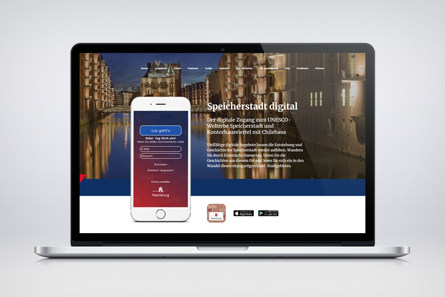 Speicherstadt Digital - Responsive Contao Website
