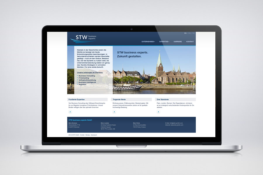 STW GmbH - Contao Website