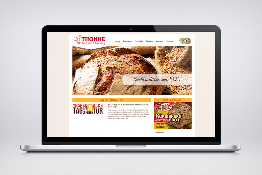 Thonke - Contao Website & Webdesign