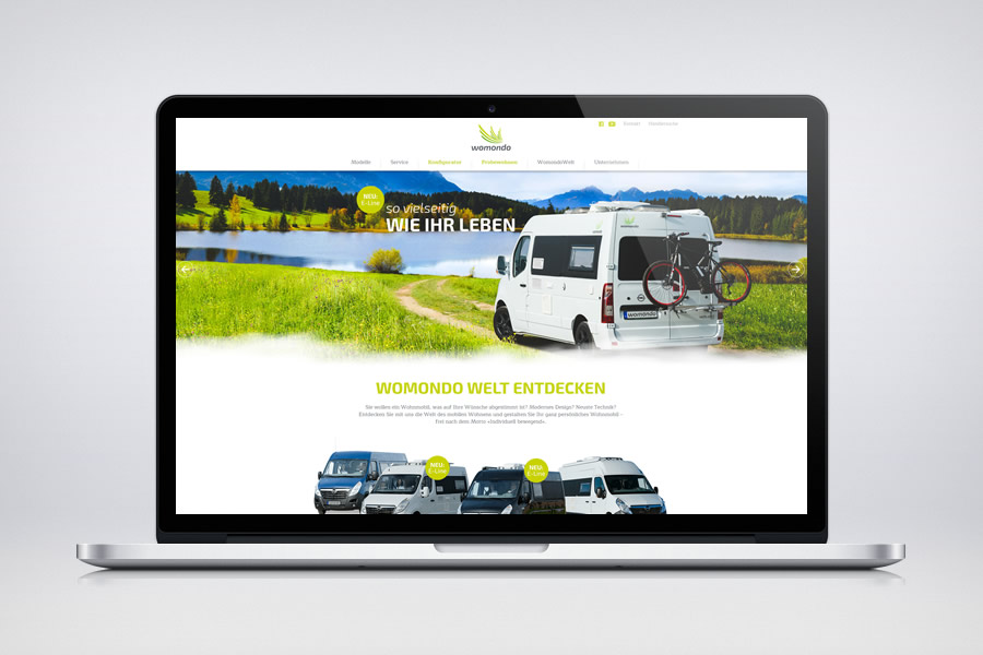 womondo - Responsive Contao Website